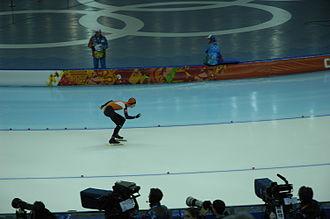 Speed skating at the 2014 Winter Olympics – Men's 10,000 metres - Gold medalist Jorrit Bergsma