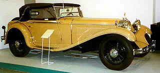 Mercedes-Benz W10 car model