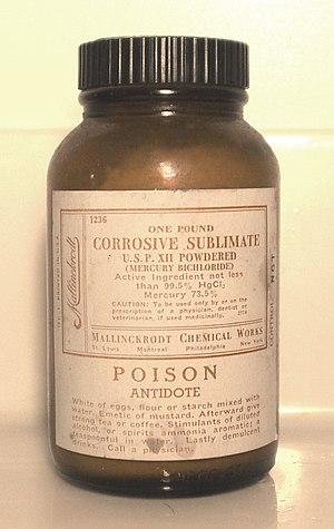 Mercury(II) chloride - Image: Mercury(II) chloride