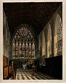 Merton College, Oxford; a marriage ceremony in the chapel. C Wellcome V0014134.jpg