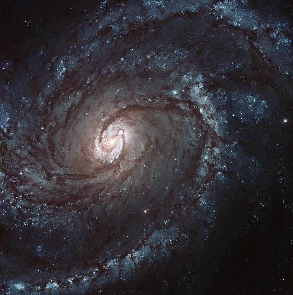 Messier 100 galaxy Hubble