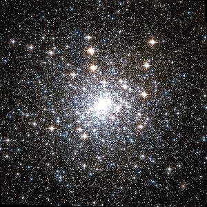 Capricornus - The globular cluster Messier 30 imaged by the Hubble Space Telescope.