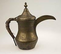 Messingen koffiepot - Stichting Nationaal Museum van Wereldculturen - TM-4182-6a.jpg