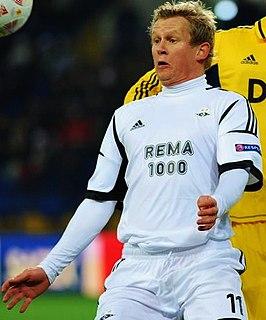 Steffen Iversen Norwegian footballer and manager