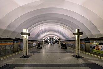 Ladozhskaya (Saint Petersburg Metro) - Station Hall