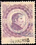 Mexico 1877 documentary revenue 49A Vera Cruz.jpg