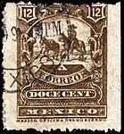 Mexico 1897-1898 12c perf 12 Sc273.jpg