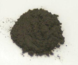 Magnesium diboride - Image: Mg B2powder 2