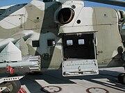 Mi-24 door opened at Cottbus airfield