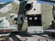 Cabin door to the rear troop-utility compartment & Mil Mi-24 - Wikipedia