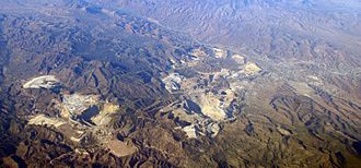 Copper mining in Arizona - Image: Miami Inspir