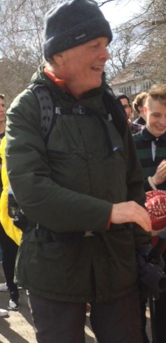 Michael Dobbs - Image: Michael Dobbs Charity Walk