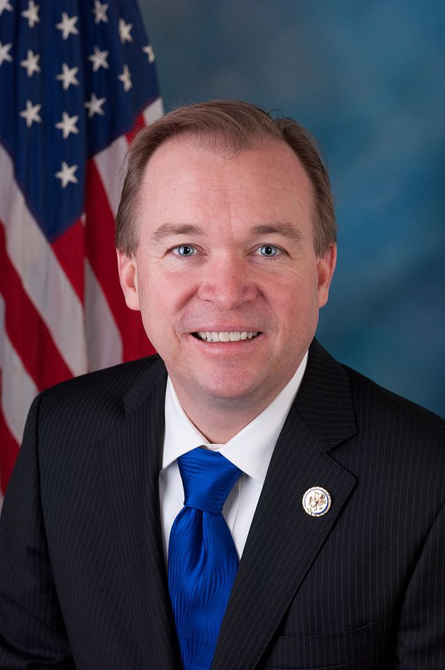 The Senate has confirmed Donald Trump's pick for White House Budget Director, Rep. Mick Mulvaney, in a 51-49 vote.