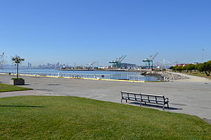 Middle Harbor Shoreline Park in the Port of Oakland.JPG