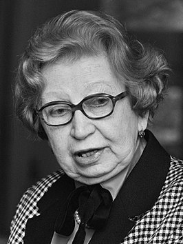 Miep Gies in 1987