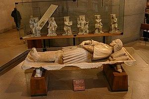 Agostino Busti - Busti's funerary monument to Gaston de Foix, in the Museo d'arte antica, Sforza Castle, Milan, Italy.