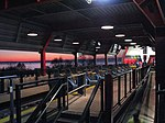 Millennium Force unload station.jpg