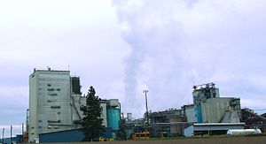 Millersburg, Oregon - Weyerhaeuser facility