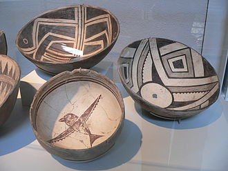 Mogollon culture - Mimbres bowls at Stanford University