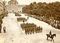 Mimohod 17. pehotnega polka v Ljubljani maja 1909.jpg