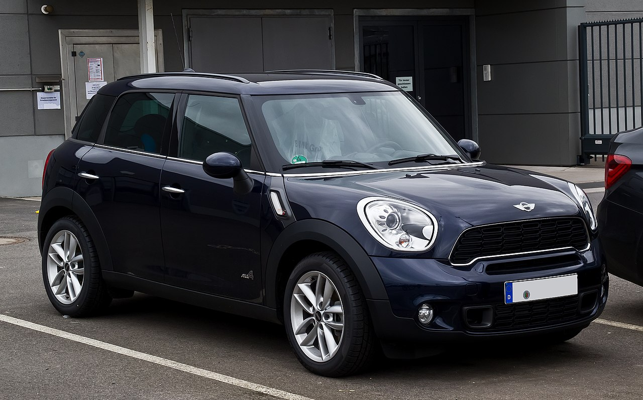 file mini cooper s all4 countryman r60 frontansicht 31 dezember 2012 d. Black Bedroom Furniture Sets. Home Design Ideas