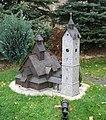Miniatura kościoła Wang w parku miniatur w Kowarach DSCF3684.jpg