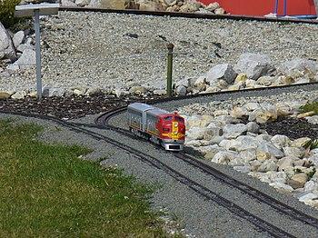 Miniuni Ostrava - train