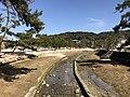 Mitaraigawa River from bridge near Kiyomori Shrine 1.jpg