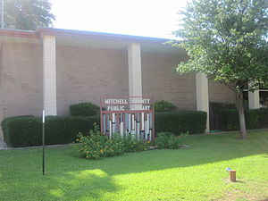 Mitchell County, Texas - Mitchell County Public Library