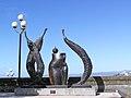 Modern Art (Fruits of The Garden) in Wellington Harbour.JPG