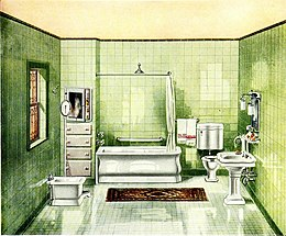 Modern bath rooms - with useful information and a number of valuable suggestions about plumbing for home builders or those about to remodel their present dwellings (1912) (14596781328).jpg