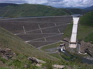 Mohale Dam Dam in Lesotho