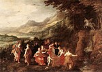 Momper, Joos de (Younger) - Helicon or Minerva's Visit to the Muses.JPG