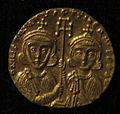 Monete d'oro di giustiniano II e tiberio IV, 705-711, 02, 4.jpg