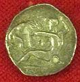 Monetiere di fi, moneta romana repubblicana con eracle e il leone nemeo 01.JPG