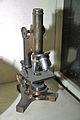 Monocular Straight Tube Microscope - Jagadish Chandra Bose Museum - Bose Institute - Kolkata 2011-07-26 4027.JPG