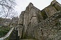 Mont Saint Michel Abbey walls (32797385011).jpg