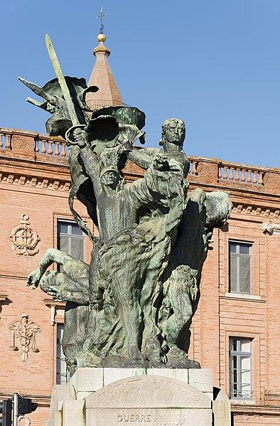 Эмиль Антуан Бурдель «Памятник павшим» в Монтобане