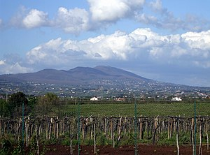Velletri - Mount Artemisio overshadows Velletri