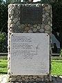 Monumento alla Bagnarota (basamento) - Bagnara Calabra (Reggio Calabria) - Italy - 18 Oct. 2014.jpg