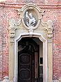 Monza - Chiesa Santa Maria al Carrobiolo - Ingresso alla Canonica.jpg