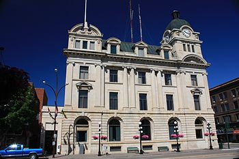 Moose Jaw City Hall, SK, Canada