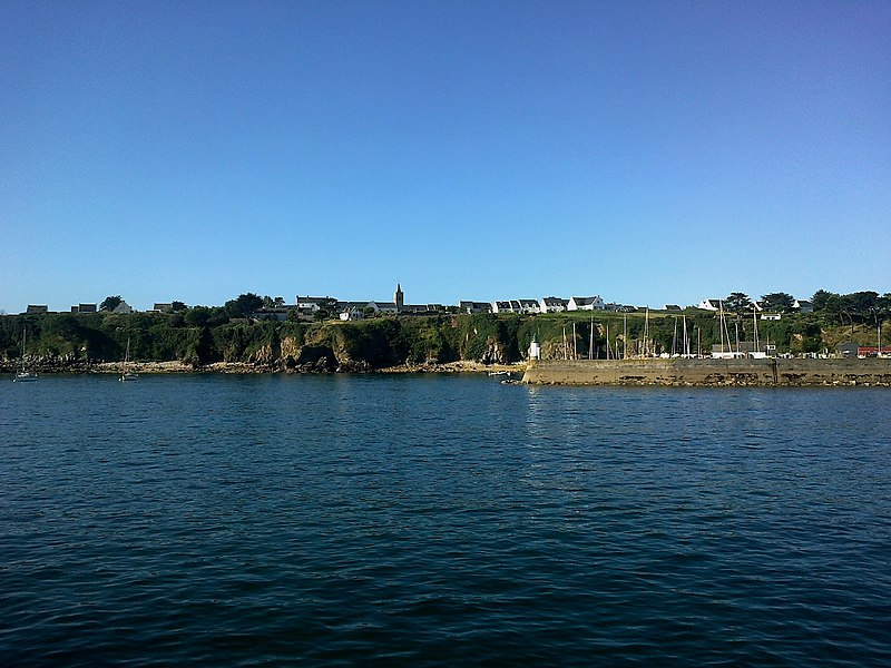 Morbihan Houat Port Saint-Gildas
