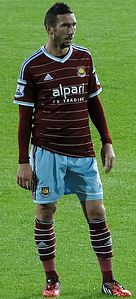 Morgan Amalfitano with West Ham United September 2014.jpg