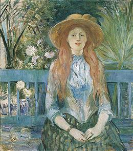 jeune fille dans un parc wikipédia