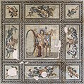 Mosaic pavement of Aion from the House of Aion in Arles, France Roman 2nd century CE.jpg