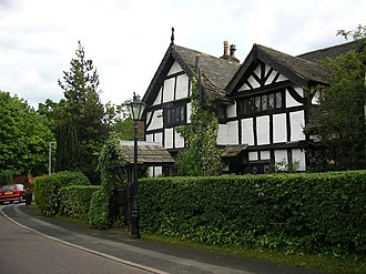Moseley Old Hall, Cheadle - The main entrance of Moseley Old Hall