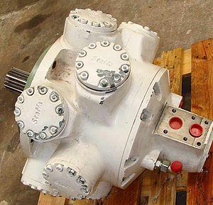 Hydraulic motor - Staffa hydraulic motor