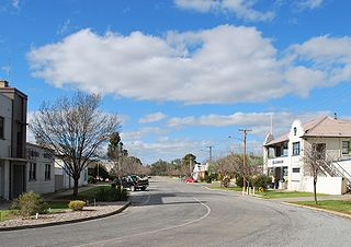 Moulamein Town in New South Wales, Australia