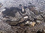 Mount Sutro and Twin Peaks aerial view, February 2018.JPG